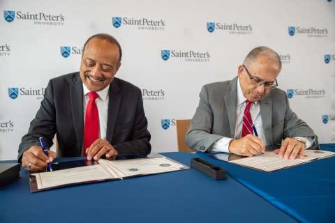 Ross University School of Medicine and Saint Peter's University Partner to Increase Physician Diversity
