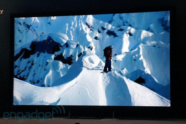 Dolby 3D on prototype 4K display and HTC Evo 3D hands-on (video)