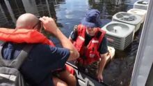 Coast Guard Gets People Out of Flooded South Carolina Apartment Complex