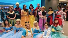 Disney cosplayers abound at Anime Festival Asia