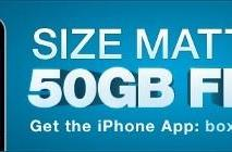 Box offers 50 GB storage to iOS users