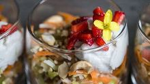 Breakfast Parfait with Coconut Cream