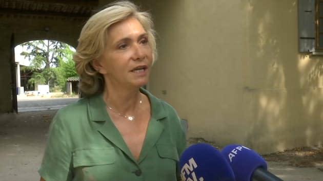 """Valérie Pécresse se dit """"prête à être la première femme présidente de la République"""""""