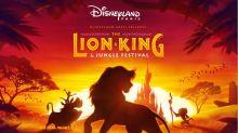 """Die Löwen sind zurück: Exklusive """"Der König der Löwen""""-Show im Disneyland Paris"""