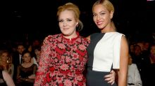 Adele danced in sweatpants to Bey's Coachella set