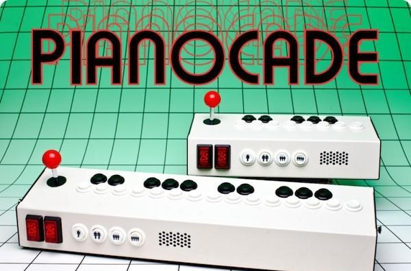 Pianocade synthesizer lets DJs practice their shoryuken skills