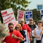 GM workers mark 'Solidarity Sunday' on week two of strike