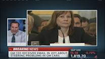 Email to GM's Mary Barra