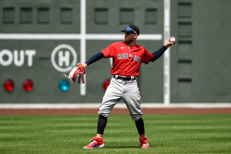 WATCH: Alex Verdugo notches first home run with Red Sox