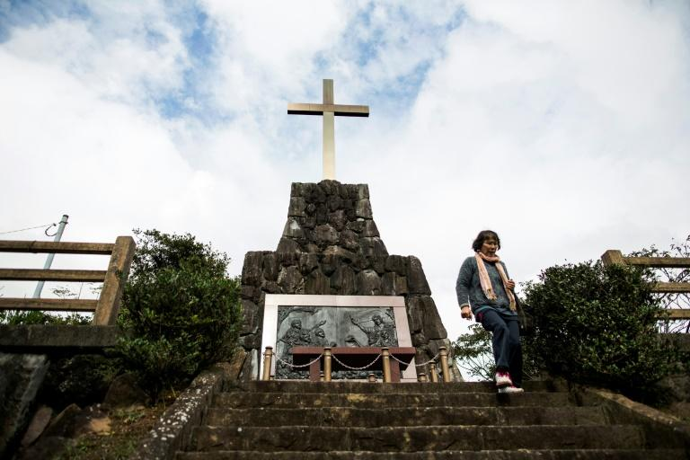 A backlash in Japan saw Christianity banned, priests expelled, and converts who refused to recant crucified, set alight or slowly drowned (AFP Photo/Behrouz MEHRI)