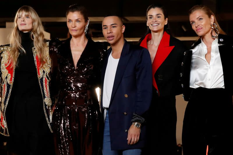 FILE PHOTO: Balmain collection show at Paris Fashion Week