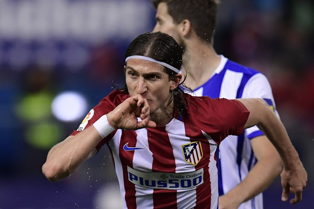 """Atlético Madrid, Filipe Luis : """"Nous vivons un meilleur moment que le Real Madrid"""""""