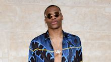 Russell Westbrook only wears his outfits once, then donates them