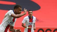 PSG vence Nice (3-0) na volta de Mbappé; Saint-Etienne empata mas se mantém líder