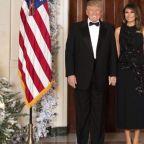As the Trumps Pose for Annual Christmas Portrait, Critics Ask: 'Where's Barron?'