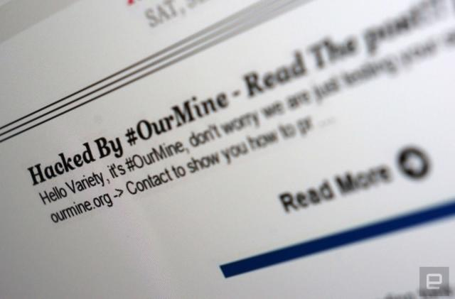 OurMine 'hack' bombards Variety readers with email