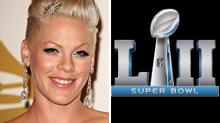 Pink To Sing National Anthem Before Super Bowl On NBC