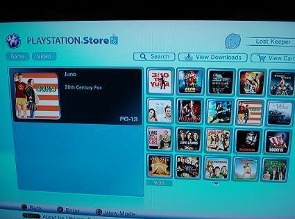 PlayStation video download service is live