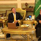 US Sec. of State Pompeo lands in Saudi Arabia