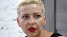 Oppositionelle Kolesnikowa: Stoppt die Gewalt in Belarus