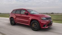 2019 Hennessey Jeep Grand Cherokee Trackhawk HPE1000 First Drive   Sounds like war, goes like hell