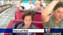 Thrill Seekers Flock To Magic Mountain For Chance To Ride Colossus For Final Time