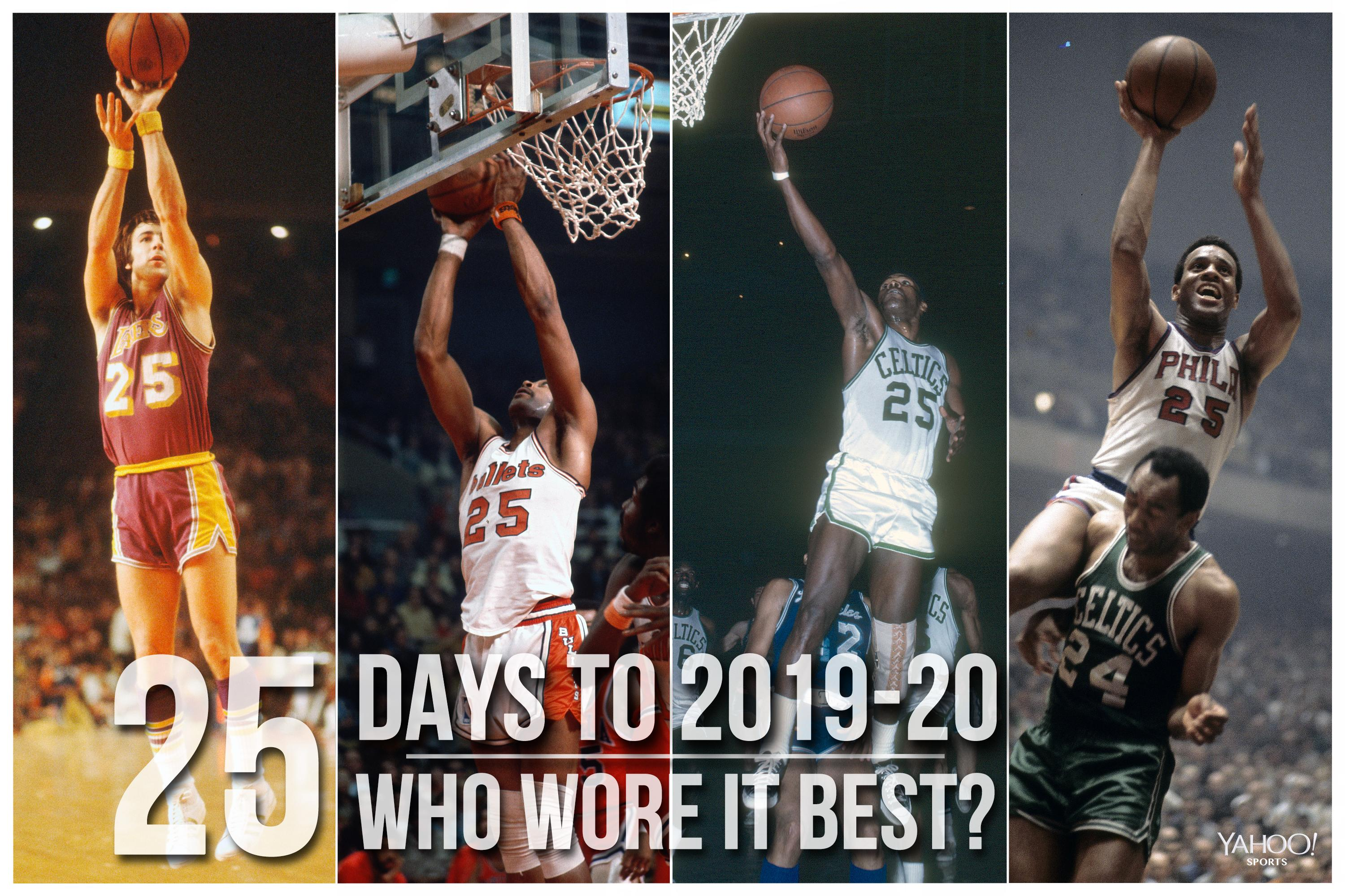 NBA Countdown: Who wore No. 25 best?