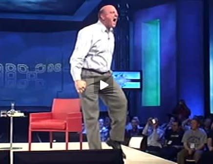 Ballmer answers iPhone SDK questions, revisits Monkey Boy dance