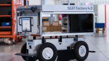 Seat introduces new autonomous robots at Barcelona factory
