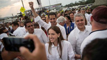 Colombia baila con Guaidó y Maduro responde con censura y represión