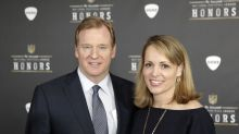 Roger Goodell's wife had a secret Twitter account to defend him against criticism