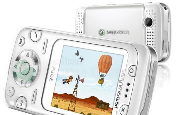 Sony Ericsson leaks galore include F305 motion gaming phone