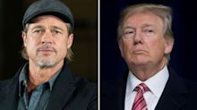 Brad Pitt Says Donald Trump Poses a 'Threat' to Some 'Serious Issues'