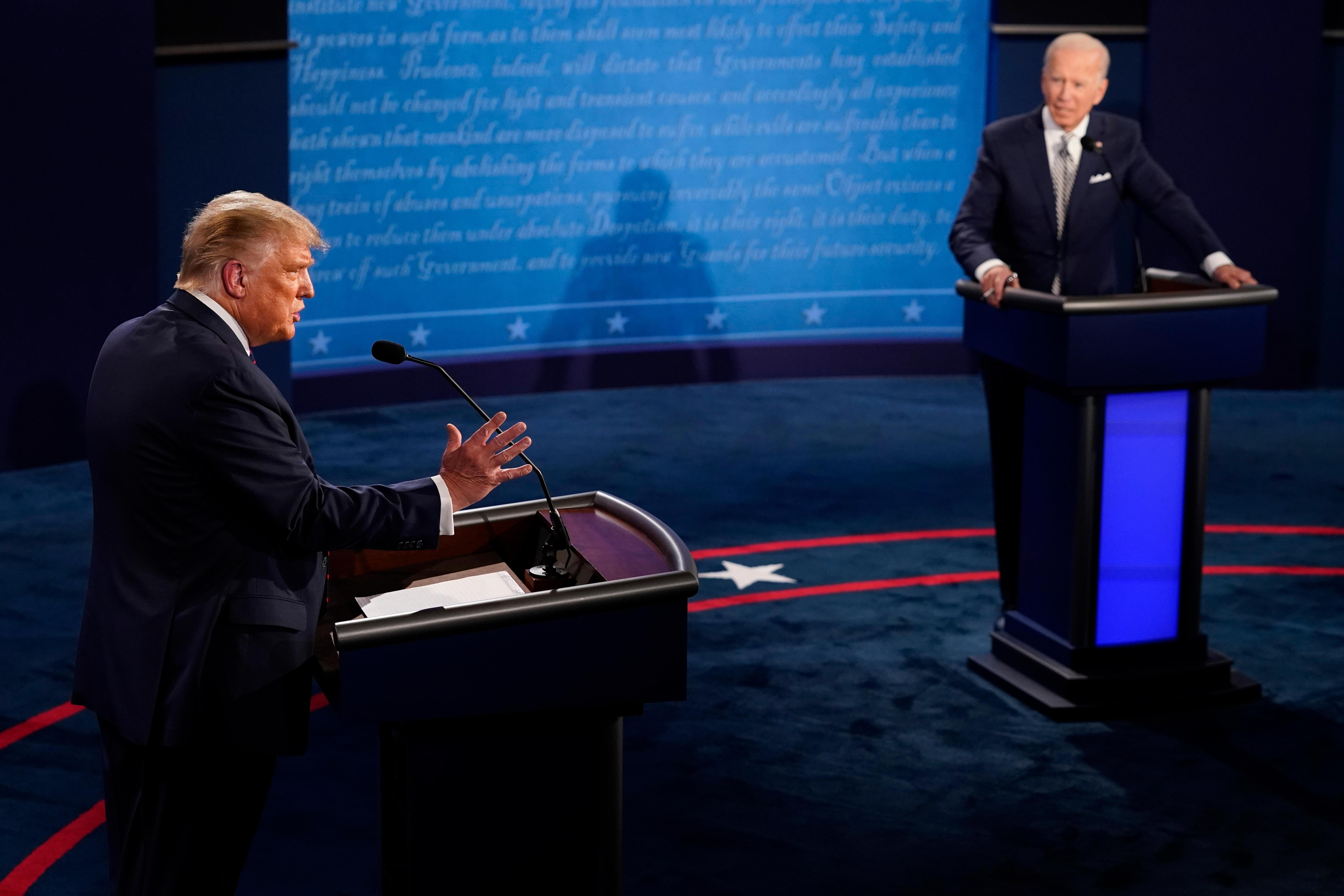 Trump campaign says debate structure should not be changed