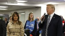 President Trump says Melania had a '4-hour operation' and 'can't fly for one month' — is that normal?