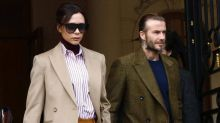 Victoria and David Beckham discovering art together