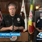 LAPD Chief Michel Moore apologizes for 'blood on their hands' comment