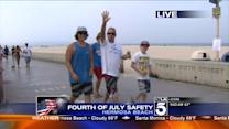Increased Police Presence in Hermosa Beach for Fourth of July