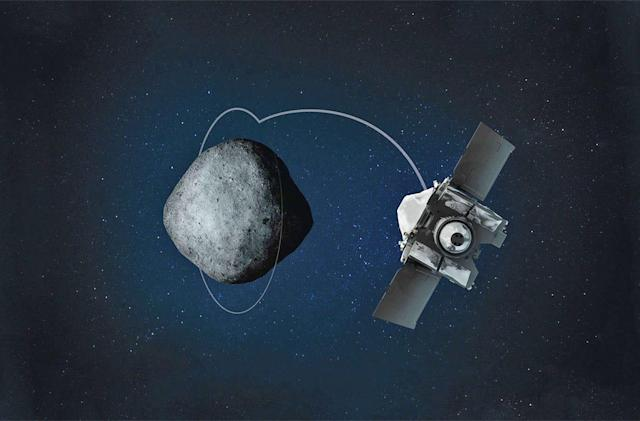 NASA's OSIRIS-REx has started orbiting asteroid Bennu