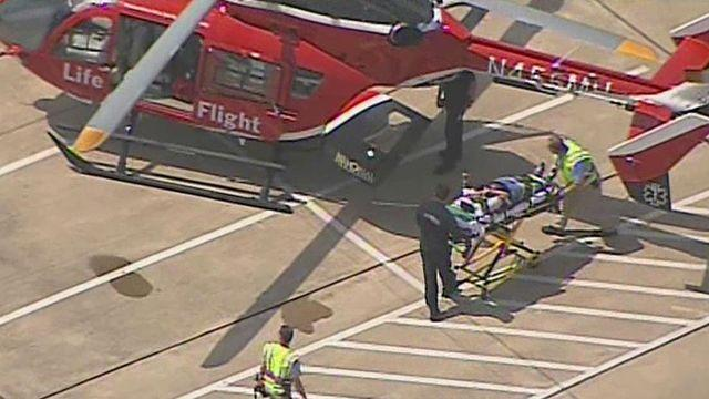 Suspect detained in Lone Star College stabbing