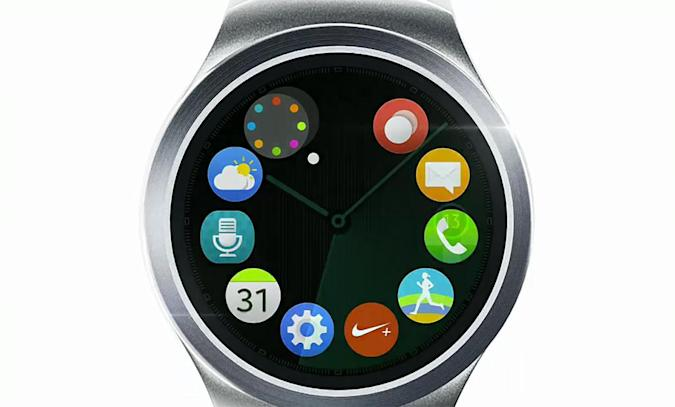 Samsung teases round Gear S2 smartwatch (update: more pics)