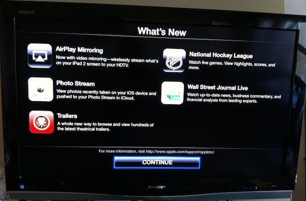 Photo Stream, NHL, AirPlay mirroring and more added to Apple TV with software update