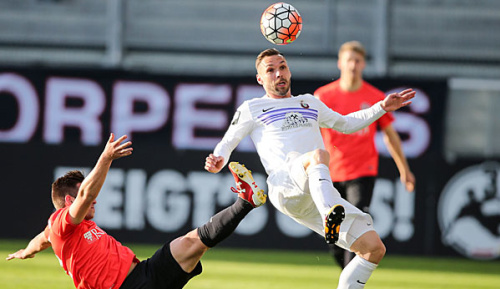 2. Bundesliga: Tiffert verlängert in Aue bis 2018
