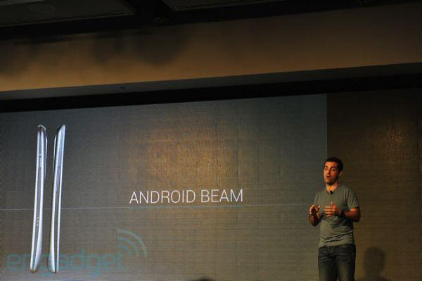 Google announces NFC-based Android Beam for sharing between phones (video)
