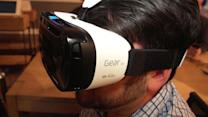 Samsung Gear VR is a Samsung dive into virtual reality