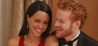 Watch Harry and Meghan's TV-movie selves fall in love