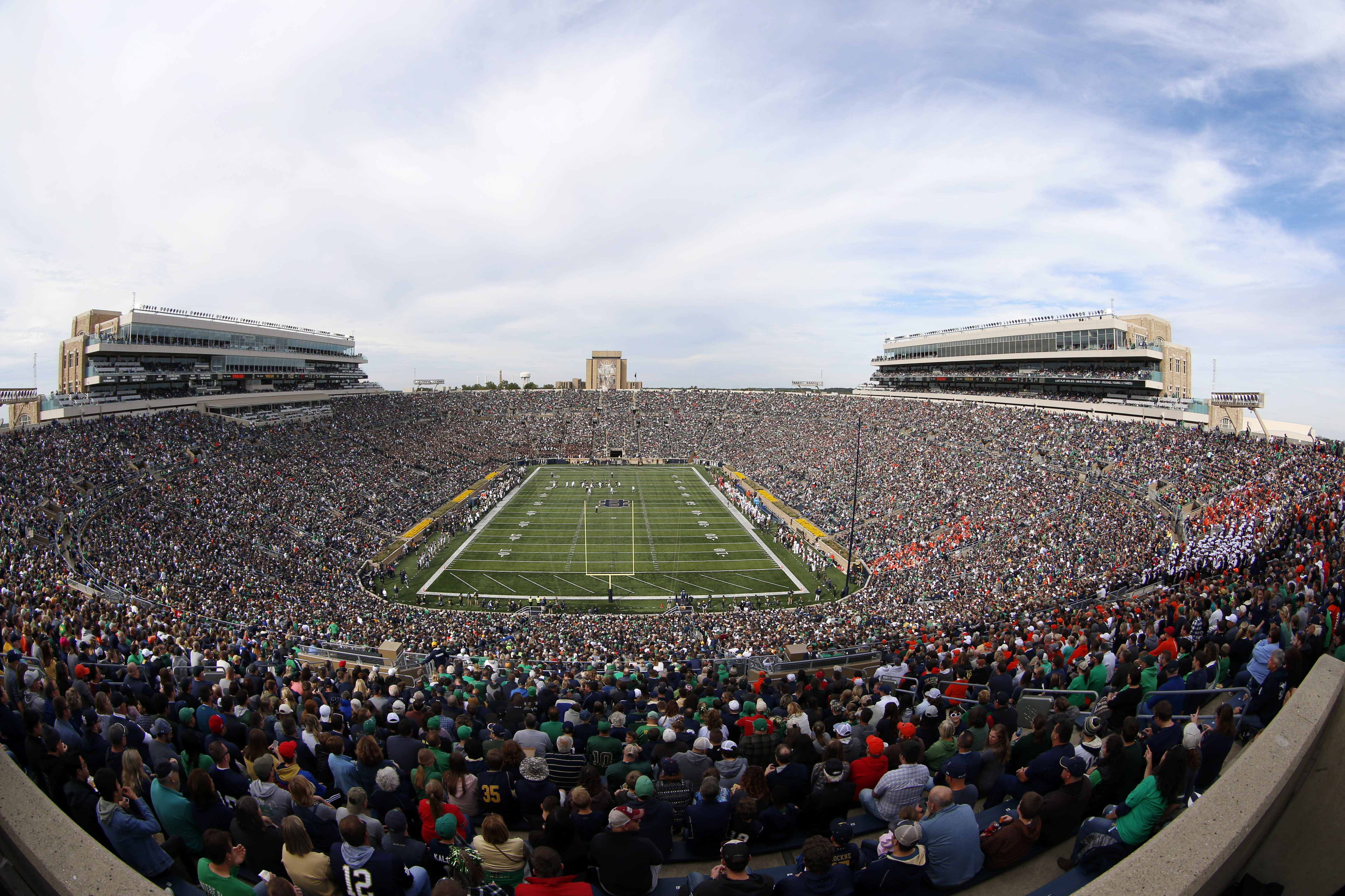 Notre Dame president: Unlikely stadium will be full in 2020