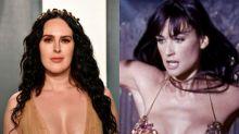 Rumer Willis celebrates mother Demi Moore's birthday with Striptease throwback