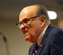 Rudy Giuliani admits Biden is president hours after being sued for $1.3 billion by voting-machine company