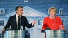 Zone euro : Macron et Merkel veulent un budget commun